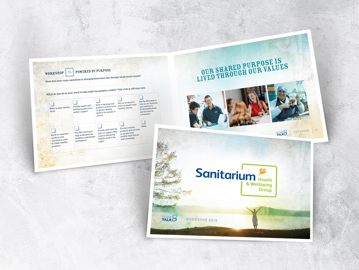 Sanitarium Health and Well Being Group A5 Brochure