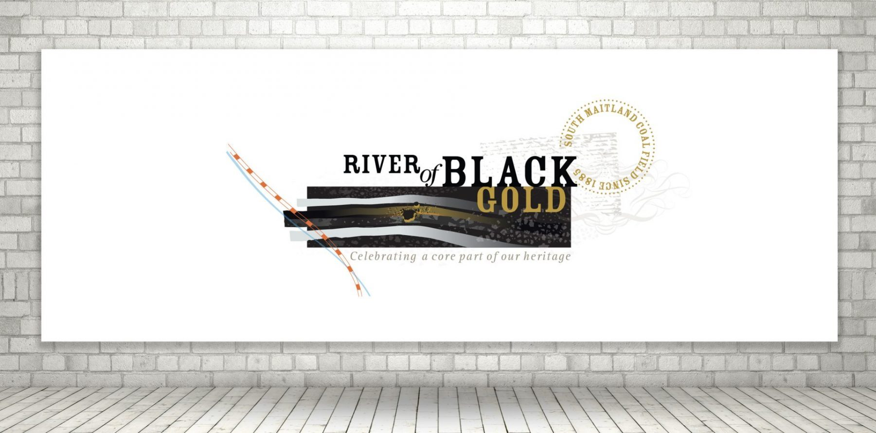 River of Black Gold Logo for Cessnock City Council