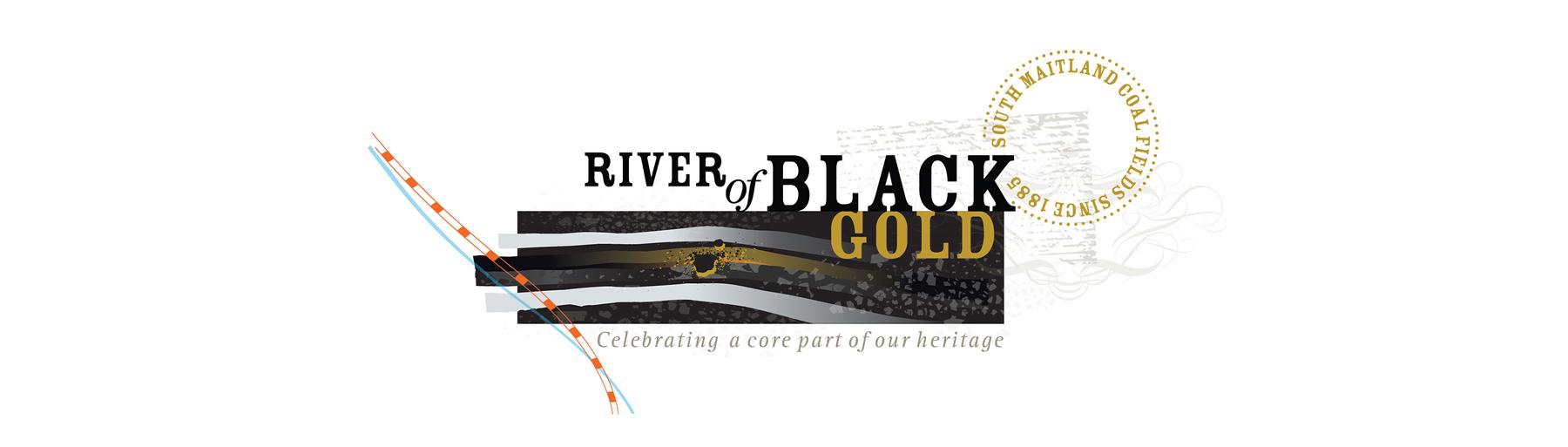 River of Black Gold Logo Banner