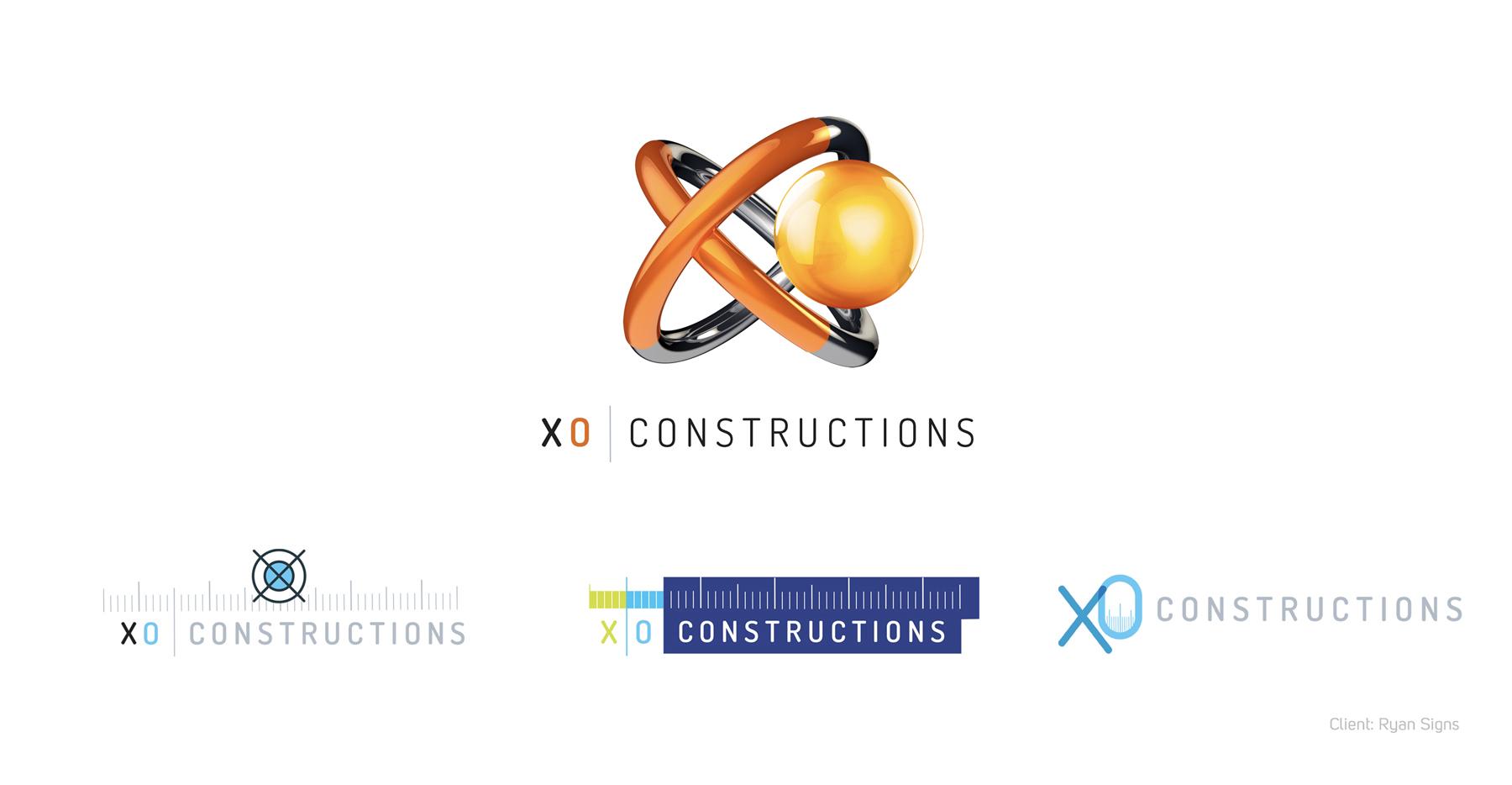 XO Constructions Logo Banner