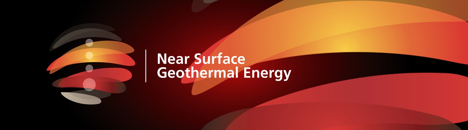 Near Surface Geothermal Energy Logo Banner