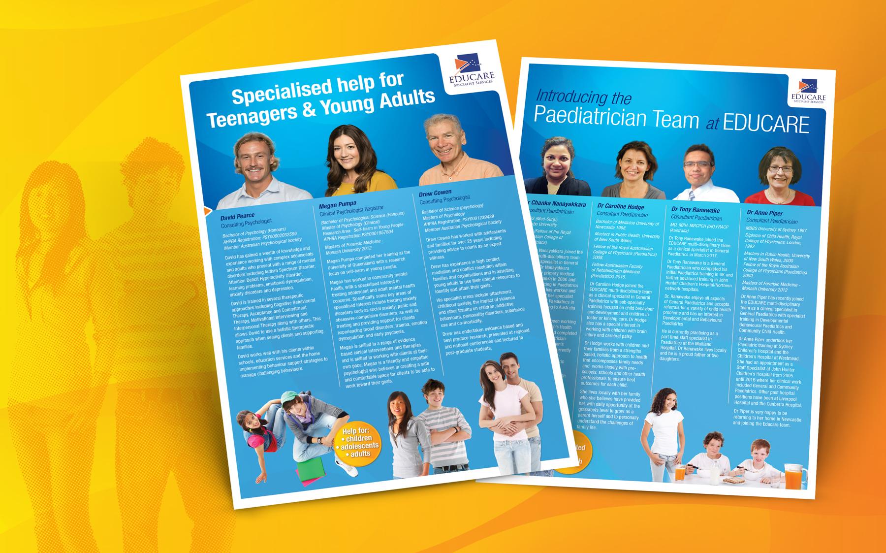 Educare team brochure