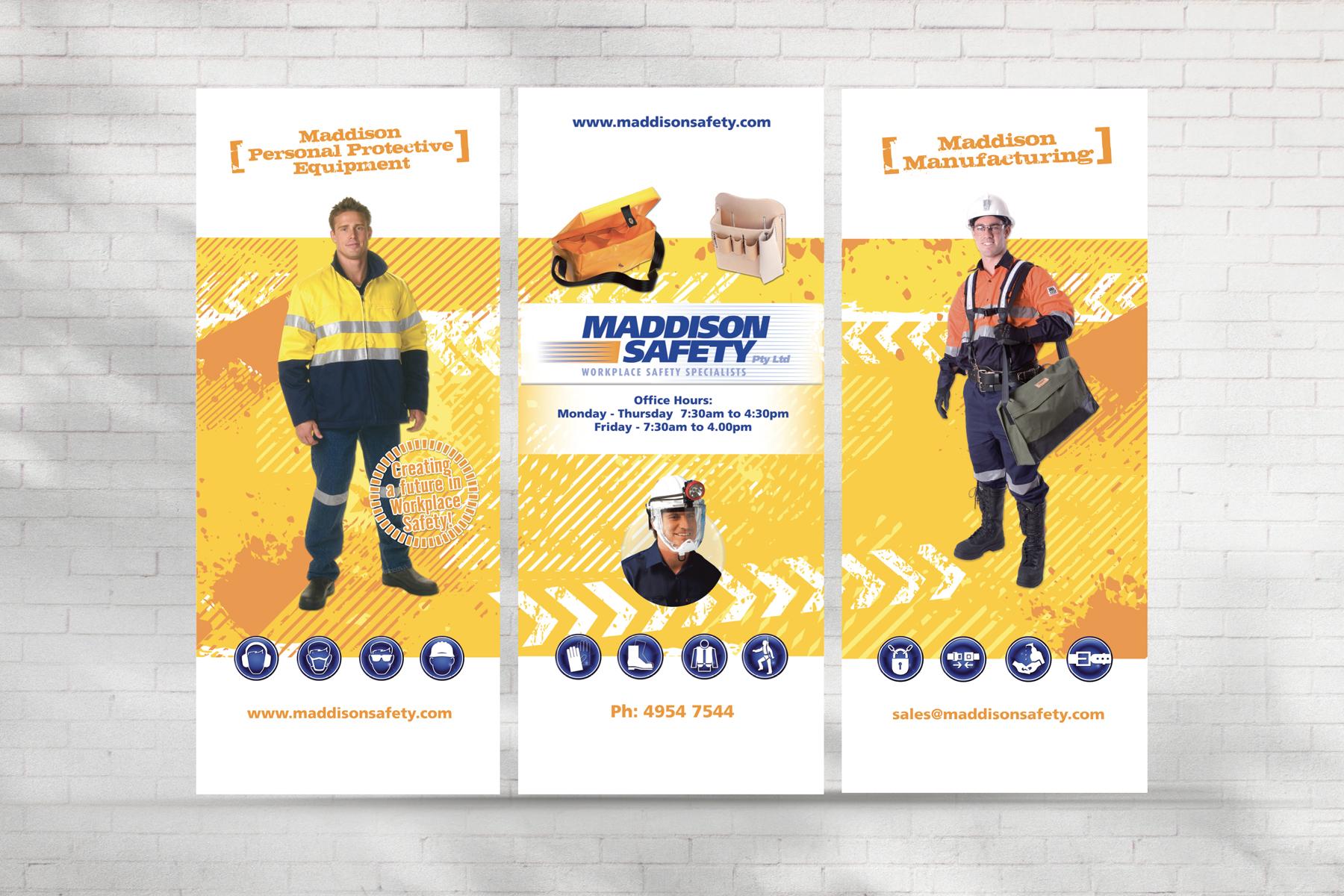 Maddison Safety Window Signage