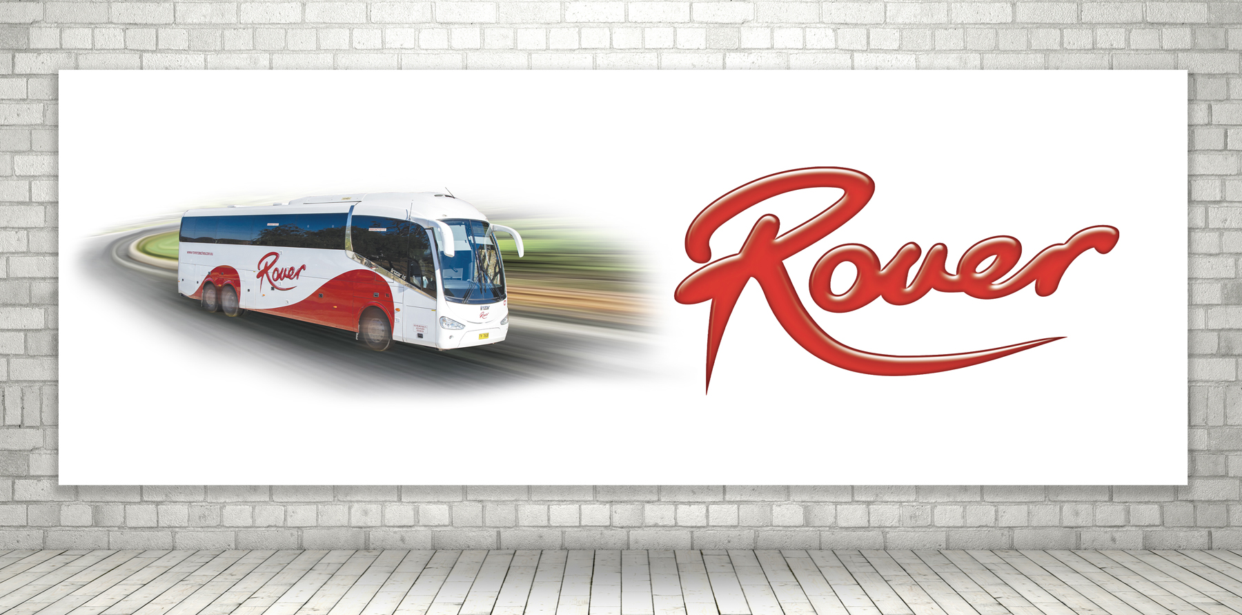 Rover Coaches Bus Signage