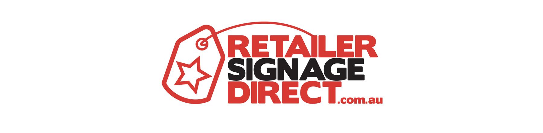 Retailer Signage Direct Logo Banner
