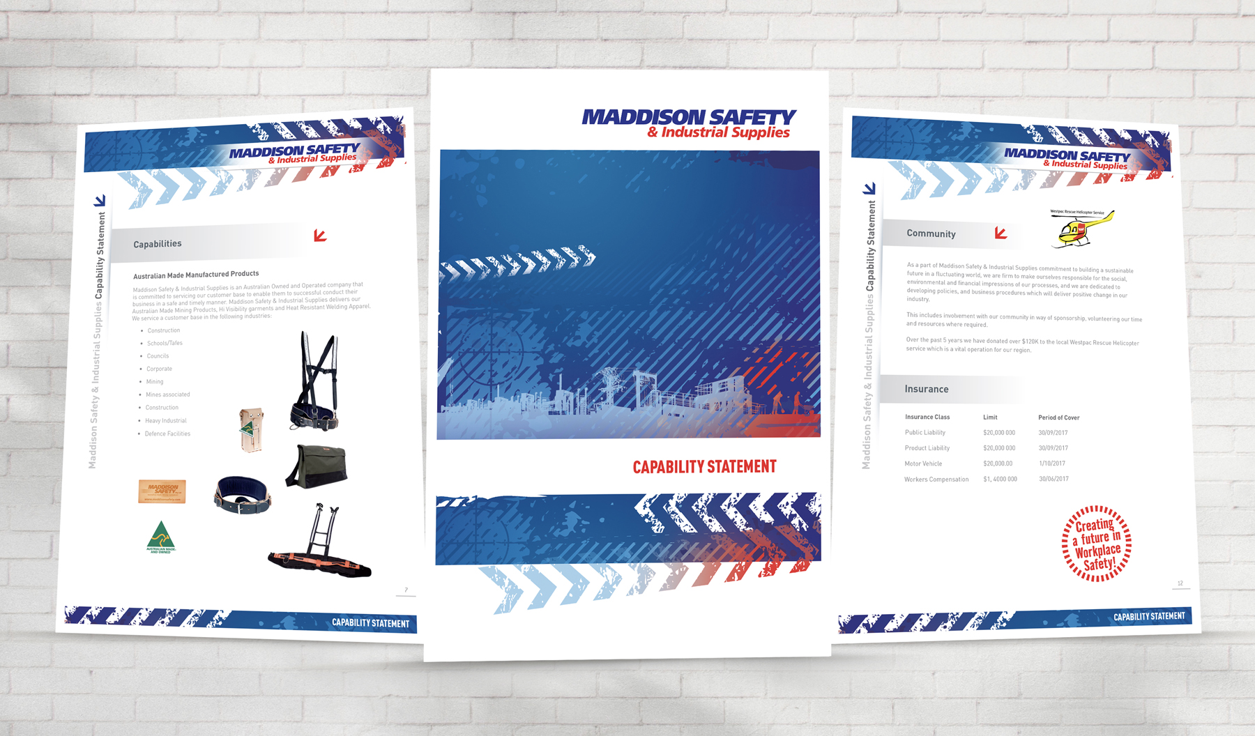 Maddison Safety Capability Document Page Samples
