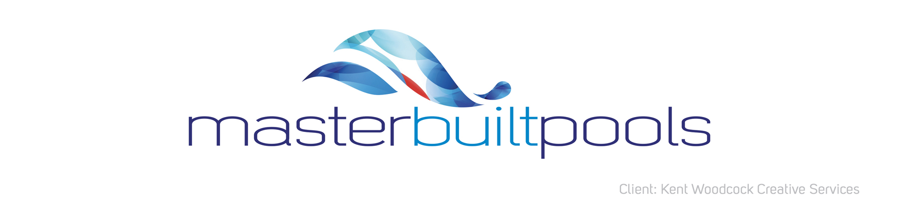 Master Built Pools Logo Banner