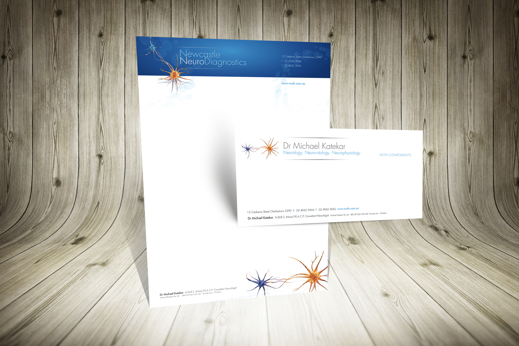 Newcastle Neuro Diagnostics Stationery