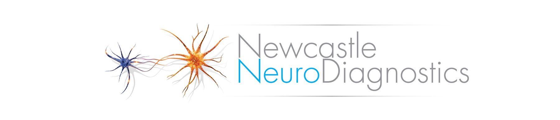 Newcastle Neuro Diagnostics Logo on white background isolated