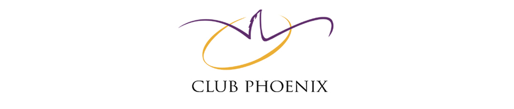 Club Phoenix banner on white background