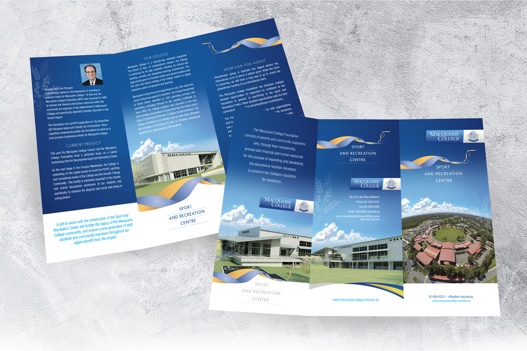 Macquarie College 6 Page DL Sport and Recreation Centre Promotion