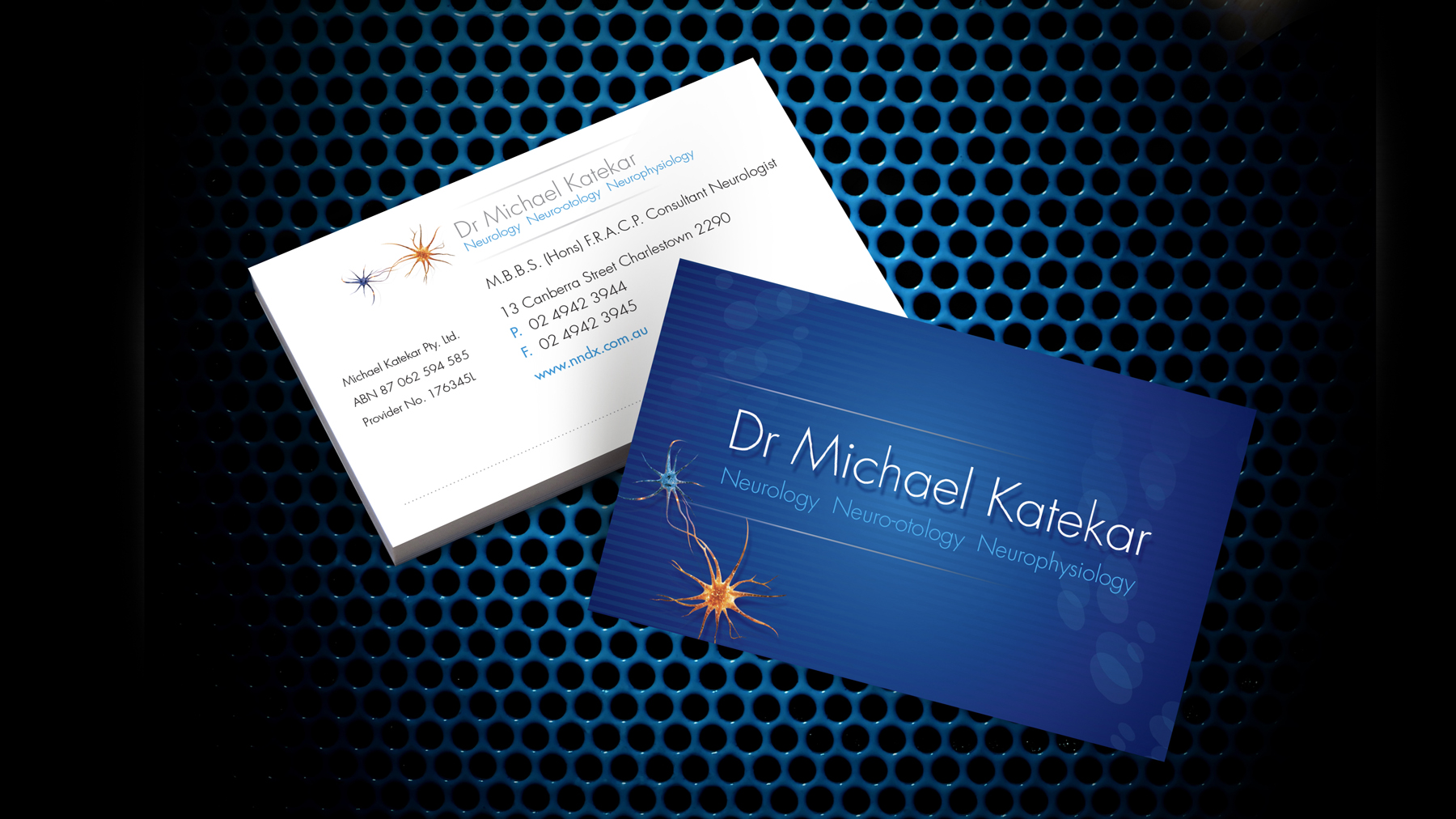 Newcastle Neuro Diagnostics Business Card