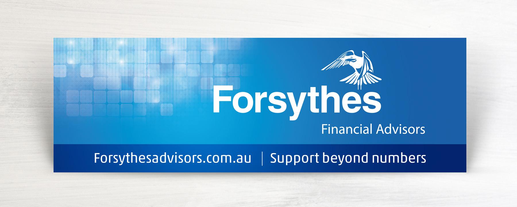 Forsythes Signage