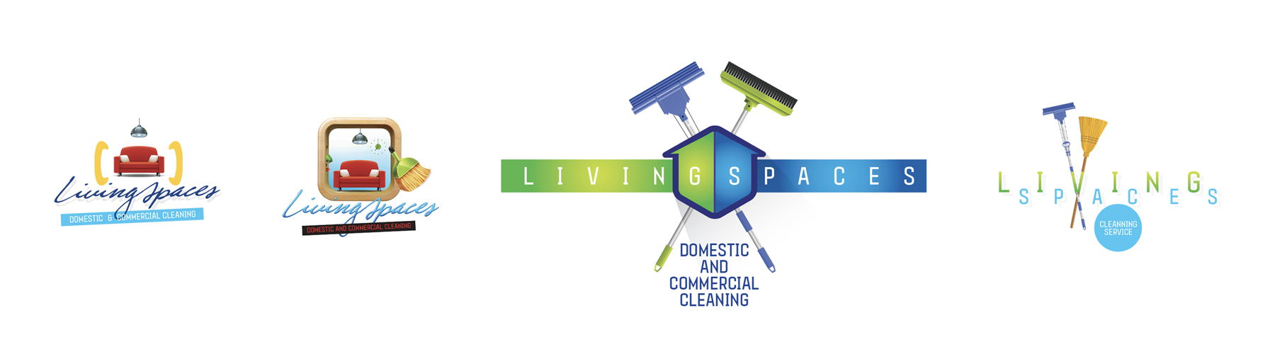Living Spaces Logo for Sarah Campbell on white background Isolated