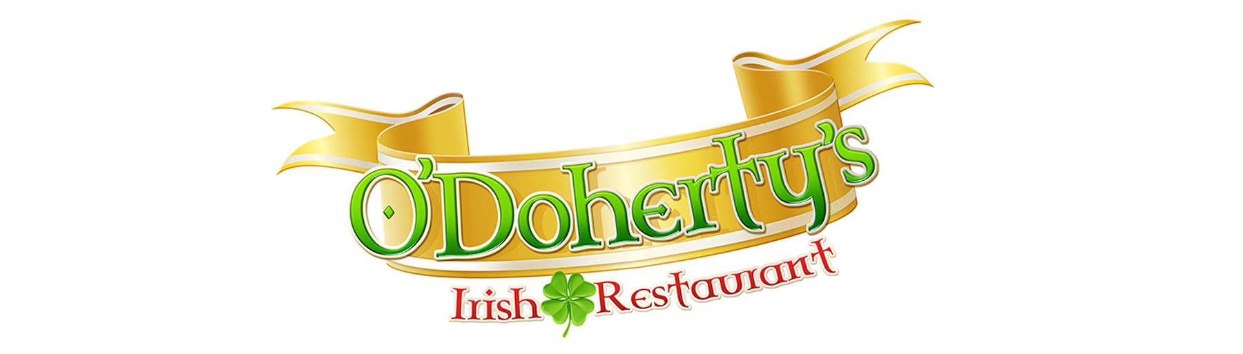 West Group Odohertys Irish Restaurant Logo on white background isolated