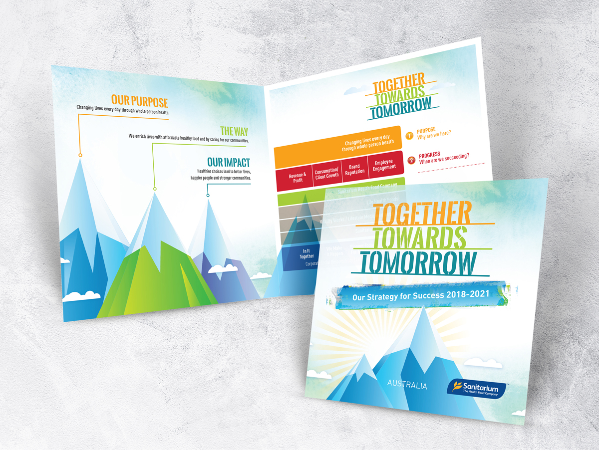 Sanitarium Promotion, Together Towards Tomorrow Brochure