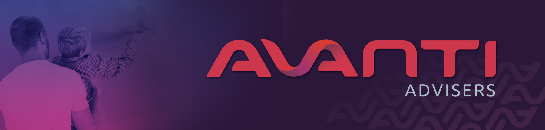 AVANTI Advisers Logo Colour Panel