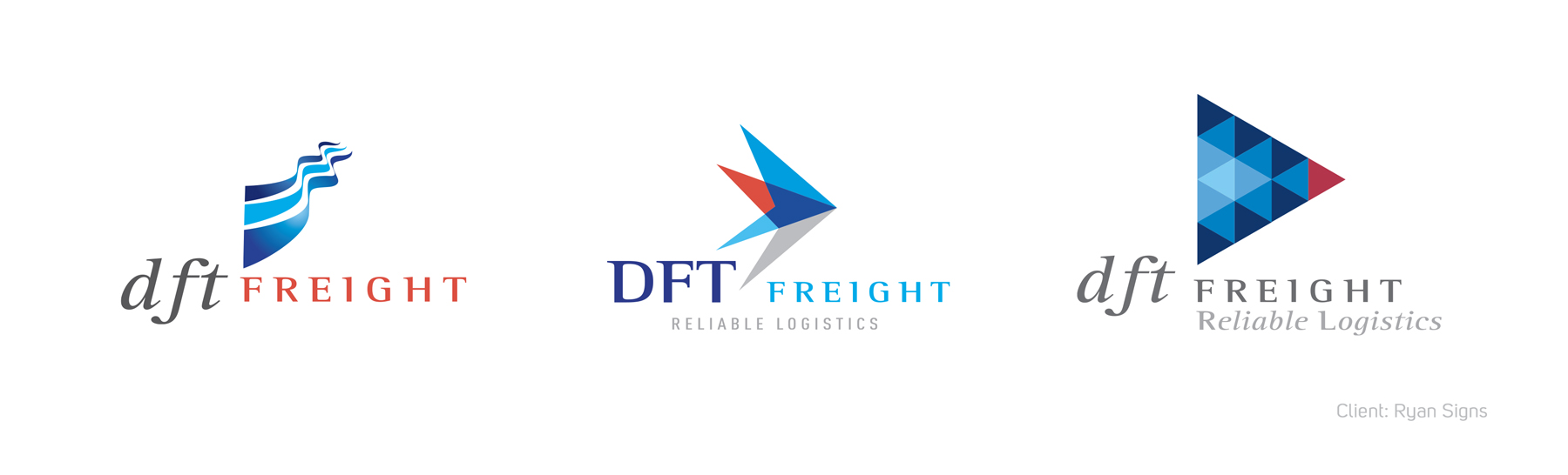 DTF Freight Logo display banner