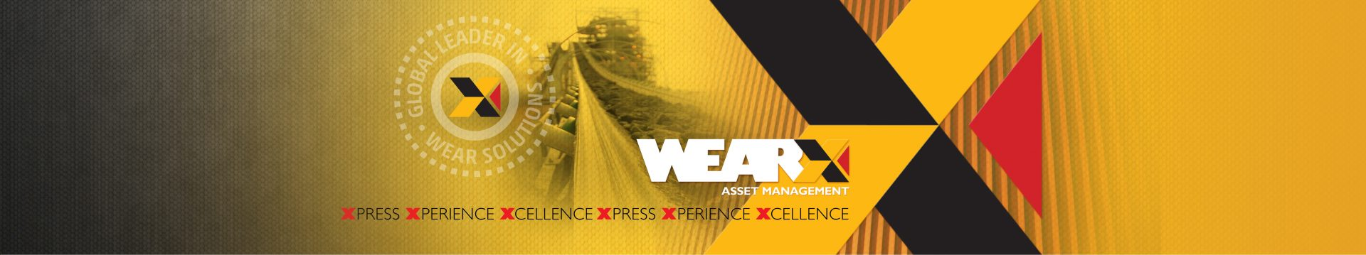WEARX banner for promotion