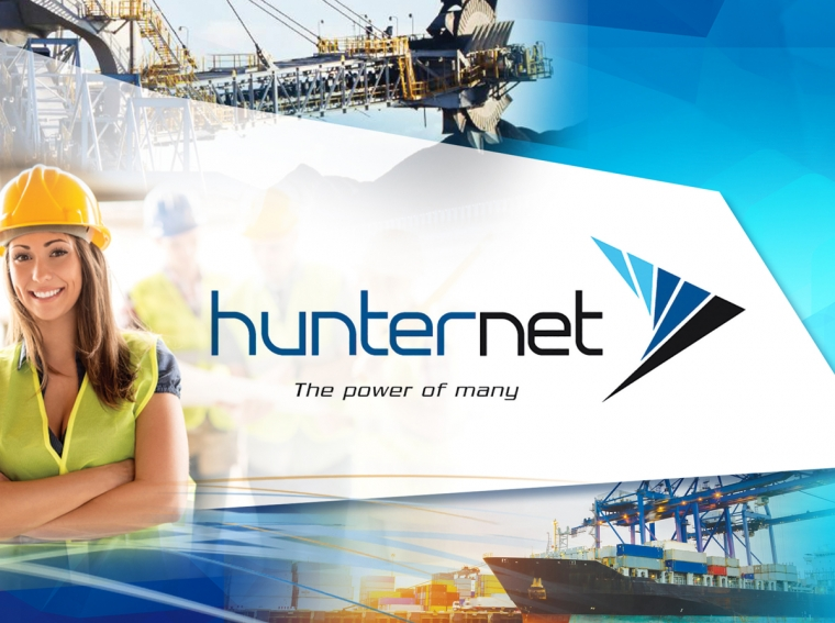Hunternet Introduction Branding