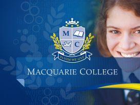 Macquarie College Intro Graphic