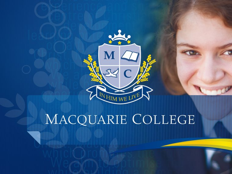 Macquarie College Intro Graphic